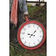 Creative Co-Op Heart & Home Oversized 25'' Pocket Watch Wall Clock