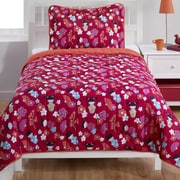 Beco Home Japanese Dolls 2 Piece Twin Comforter Set