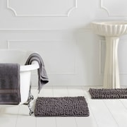 Better Trends Micro 3 Piece Bath Rug Set; Grey