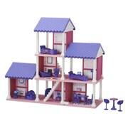 American Plastic Toys 25 Piece Delightful Dollhouse Set
