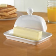 Home Essentials and Beyond Covered Butter Dish