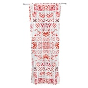 KESS InHouse Scandanavian Square by Danii Pollehn Sheer Curtain Panel (Set of 2)