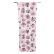 KESS InHouse Cute Stuff by Marianna Tankelevich Sheer Curtain Panel (Set of 2)