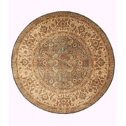 Eastern Rugs Sarouk Hand-Knotted Green Area Rug