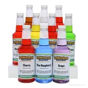 HawaiianShavedIced Shaved Ice and Snow Cone Syrups, 10 Flavors, 16 Ounces