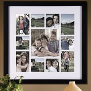 AdecoTrading 11 Opening Decorative Bulletin Board Style Wall Hanging Collage Picture Frame