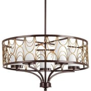 Progress Lighting Cirrine 5 Light Drum Chandelier