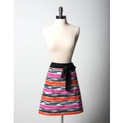 Simply Whimsical Cotton Mod Stripe Collette Apron