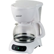 Range Kleen Brentwood 4-Cup Coffee Maker; White