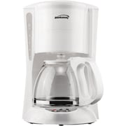 Range Kleen Brentwood 12-cup Coffee Maker; White