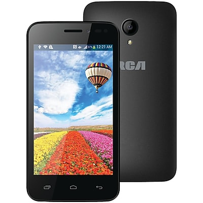 RCA RLTP4028-BLACk 4 Android Dual-Core Smartphone with Dual Camera