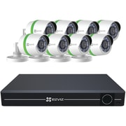 Ezviz Bd-1828b1 8-channel 1080p Analog System With 1tb Hard Drive & 8 Weatherproof 1080p Bullet Cameras