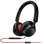 Philips M1mkiibo/27 Fidelio Headphones With Microphone (black/orange)