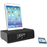ihome idl43b ipad®/iphone®/ipod Dual Charging Fm Clock Radio With Lightning Dock