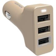 kanex k161-1005-gd 4.4a 3-port CLA Charger (gold)