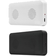 iluv Audmini Portable Black And White Speakers 2 Pack