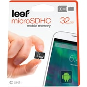 Leef LMM10AkW032E1 microSD Card with Adapter (32GB)