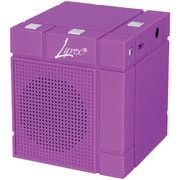Lyrix 09872-pg Mixx Bluetooth Speaker (purple)