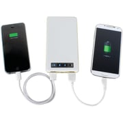 Chargeit 09935-pg 10,500mAh Powerglide Power Bank (white)