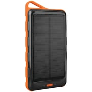 Tough Tested Tt-solar10 10,000mAh Solar Power Bank With Dual Usb