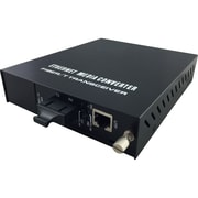 LevelOne RJ45 to SC Managed Fast Ethernet Media Converter, Single-Mode Fiber, 20km (FVM-1220)