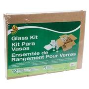 "Duck® Glass Kit Moving Accessories, Fits 16""x12""x12"" Box"