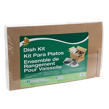 Duck® Dish Kit Moving Accessories, Fits 16