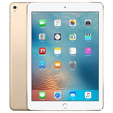 Apple - iPad Pro (MLQ52CL/A) 9,7 po, puce A9X 3e génération, 128 Go, Wi-Fi + Cellular, or