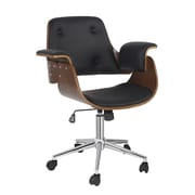 Porthos Home Orion Mid-Back Office Chair; Black