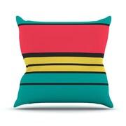 KESS InHouse Simple by Danny Ivan Throw Pillow; 20'' H x 20'' W x 1'' D