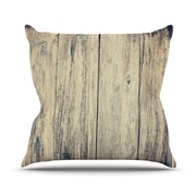 KESS InHouse Wood Photography II by Beth Engel Throw Pillow; 20'' H x 20'' W x 1'' D