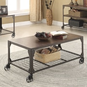 Wildon Home   Coffee Table with Magazine Rack