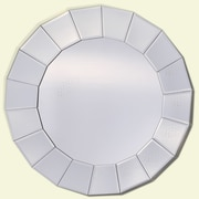 Yosemite Home Decor Round Wall Mirror