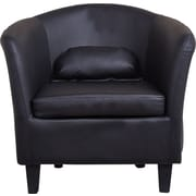 Gold Sparrow Denton Club Chair; Black