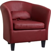 Gold Sparrow Denton Club Chair; Wine Red