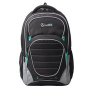 Mercedes AMG Petronas Black Polyester Active Backpack (AMGJ-003)