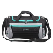 Mercedes AMG Petronas Travelers Small Duffel Bag, Black (AMGJ-007)