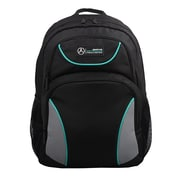 Mercedes AMG Petronas Black/Grey Polyester Backpack (AMGJ-027)