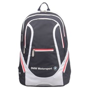 BMW Motorsports Navy Blue/White Polyester Team Backpack (BMJ-102)