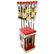 Designers Edge E3001 Light Bulb Changing Kit with 11-foot Metal Telescopic Pole, Baskets, Suction Cup and Broken Bulb Changers