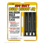 Designers Edge L12500W 500-Watt Rough Service Halogen Bulb with Bulb Buddy Jr. Protective Case, 3-Pack
