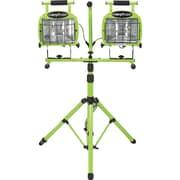 Designers Edge L5502 1400-Watt Halogen Twin Head Tripod Work Light with Weatherproof Switch, 7-Foot Cord