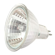 Moonrays 95518 20-Watt 12-Volt MR-16 Halogen Replacement Light Bulb, Clear Glass