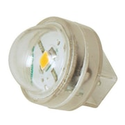 Moonrays 95551 .5-Watt 12-Volt LED Wedge Base Landscape Lighting Replacement Bulb, Clear Glass