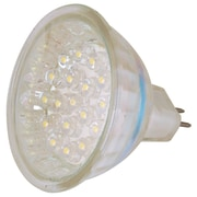 Moonrays 95553 Low Voltage 1.8-Watt 12-Volt MR-16 LED Landscape Lighting Replacement Bulb, Clear Glass