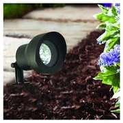 Moonrays 95728 Low Voltage 20-Watt Metal Adjustable Floodlight, Black Finish