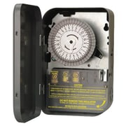 Woods 59101 120-Volt SPST 24-Hour Mechanical Time Switch, 40-Amp, Indoor
