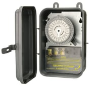 Woods 59101R 120-Volt SPST 24-Hour Mechanical Time Switch, 40-Amp, Outdoor
