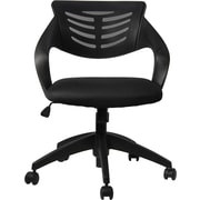 Manhattan Comfort Grove Mid-back Office Chair in Black(MC-620)