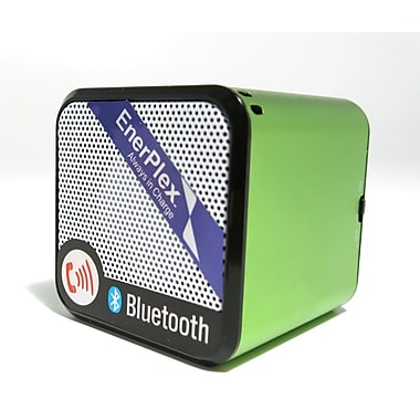 EnerPlex - Haut-parleur Bluetooth, vert (AC-SPEAK-GR)